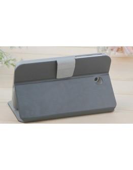 Husa protectie Smart Cover pentru  Samsung Galaxy Tab 3 7.0 T211/T215 P3200 - alba